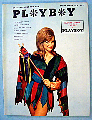 Playboy Magazine (Special Parody Issue) 1966 Harvard U. (Image1)