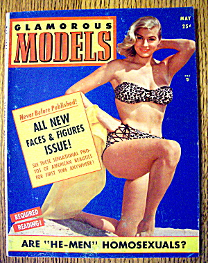 Glamorous Models May 1954 All New Faces & Figures (Image1)