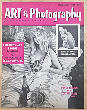 Art & Photography Magazine December 1956 Zoltan Glass