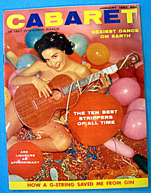 Cabaret Magazine January 1957 Sexiest Dance On Earth