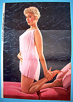 Esquire (Lady Fair) Pin Up Girl 1955 Kim Novak (Image1)