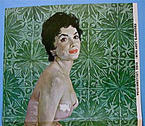 Esquire (Lady Fair) Pin Up Girl 1956 Gwen Verdon