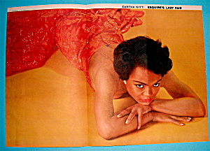 Esquire (Lady Fair) Pin Up Girl 1955 Eartha Kitt (Image1)