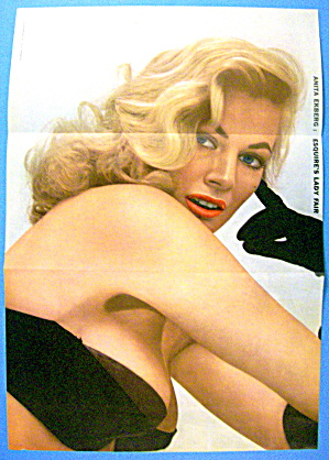 Esquire (Lady Fair) Pin Up Girl 1956 Anita Ekberg (Image1)