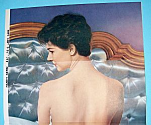 Esquire (Lady Fair) Pin Up Girl 1956 Silvana Pampanini