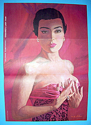 Esquire (Lady Fair) Pin Up Girl 1956 Silvana Pampanini