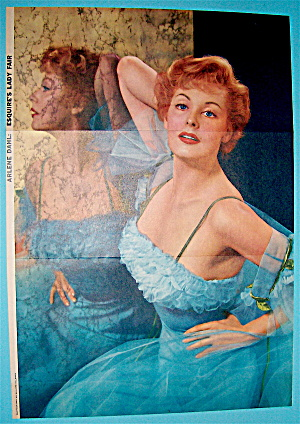 Esquire (Lady Fair) Pin Up Girl 1956 Arlene Dahl