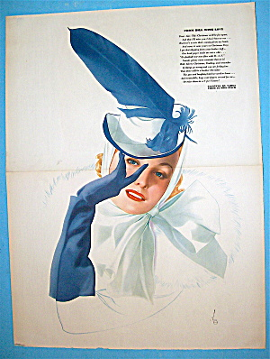 Alberto Vargas Pin Up Girl December 1941 From Bill