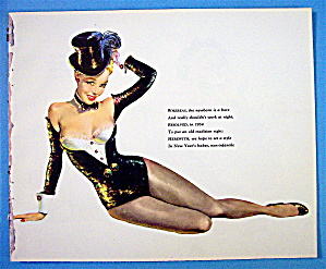 Pin Ups 1955 (12 Pin Ups-2 Sided)