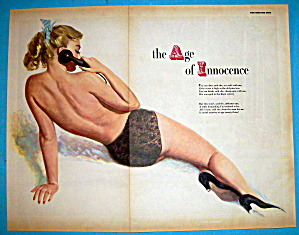 Esquire Pin Up Girl June 1951 The Age Of Innocence