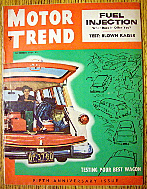 Motor Trend Magazine September 1954 Fuel Injection