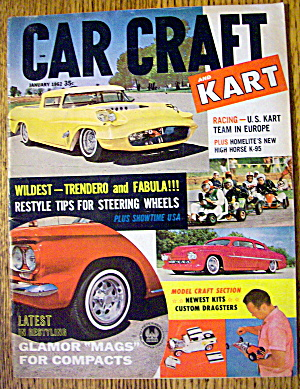 Car Craft Magazine January 1962 Trendero & Fabula (Image1)