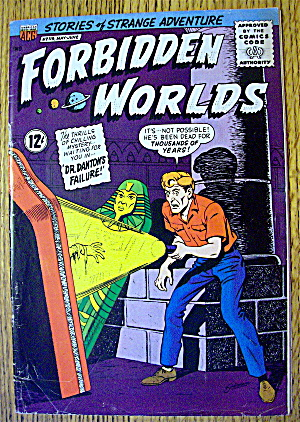 Forbidden Worlds Comic #119 May-June 1964 (Image1)