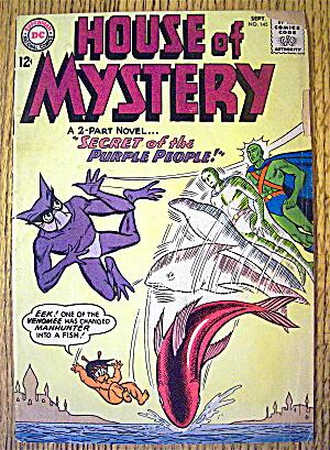 House Of Mystery Comic #145 September 1964 (Image1)