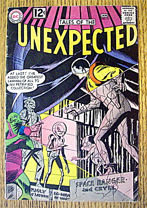 Tales Of The Unexpected #74 January 1963 DC Comics (Image1)