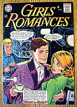 Girls Romances Comic #100 April 1964 Forget No More (Image1)
