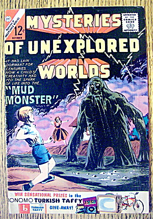 Mysteries Of Unexplored Worlds #38 October 1963 Monster