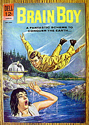Brain Boy Comic #6 September-november 1963 Mindless One