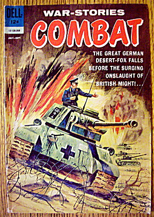 War Stories Combat Comic#12-128-209 July-September 1962 (Image1)