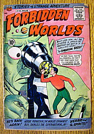 Forbidden Worlds Comic #94 March-April 1961 (Image1)