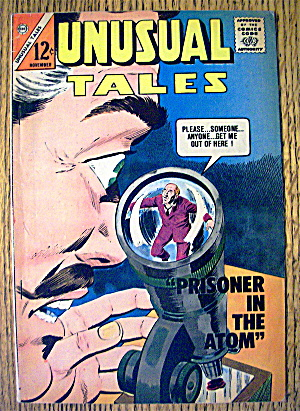 Unusual Tales Comic November 1963 Prisoner In The Atom (Image1)
