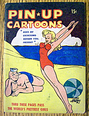Pin Up Cartoons 1940's The World's Prettiest Girls (Image1)