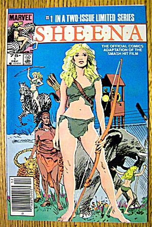 Sheena Comic #1 December 1984 Prologue (Image1)