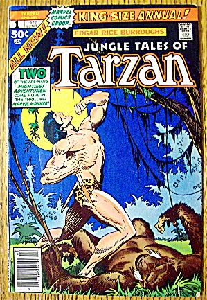 1977 Jungle Tales Of Tarzan #1 King Size Annual (Image1)