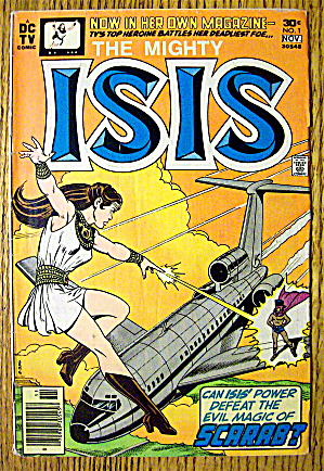 The Mighty Isis Comic #1 November 1976 Scarab