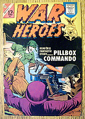 War Heroes Comic #8 May 1964 Bushwhacked (Image1)