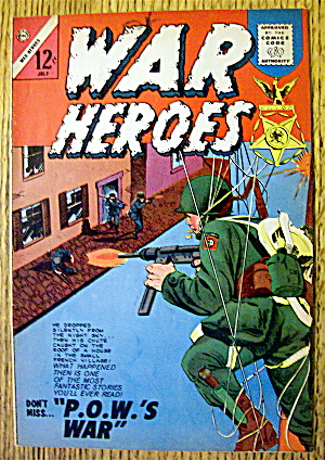 War Heroes Comic #9 July 1964 When A Brother Dies (Image1)