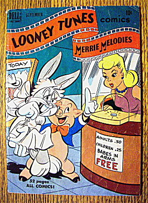 Looney Tunes Comic #107 September 1950 Merrie Melodies (Image1)