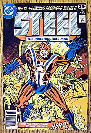 Steel The Indestructible Man #1 March 1978 Hell Is Hero
