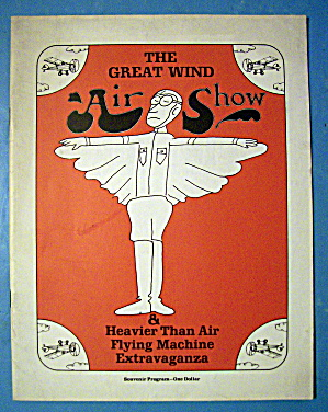 The Great Wind Air Show Souvenir Program July 1969