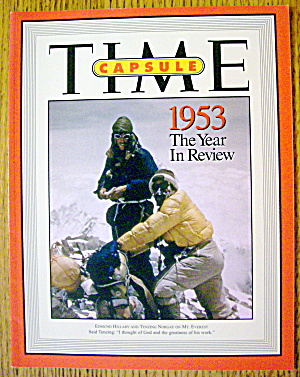 Time Magazine Hillary & Norgay (The Year In Review) (Image1)
