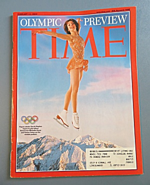 Time Magazine February 11, 2002 Olympic Preview