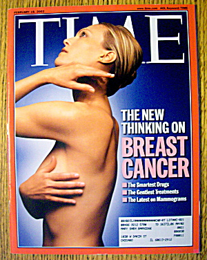 Time Magazine February 18, 2002 Breast Cancer