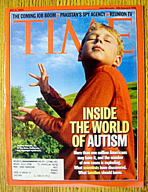 Time Magazine May 6, 2002 Inside The World Of Autism
