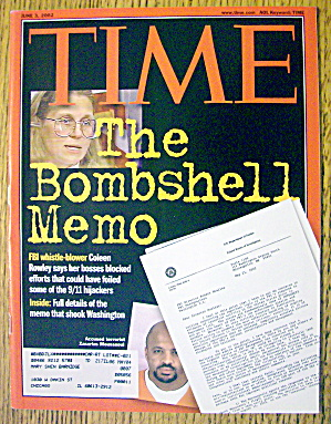 Time Magazine June 3, 2002 The Bombshell Memo