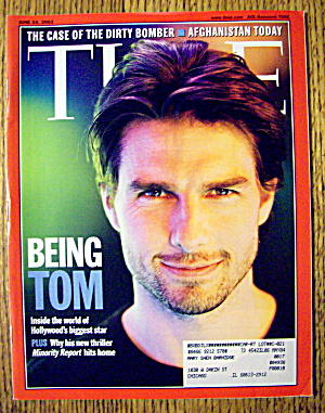 Time Magazine June 24, 2002 Being Tom Cruise