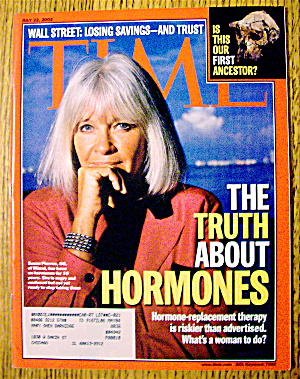Time Magazine July 22, 2002 The Truth About Hormones