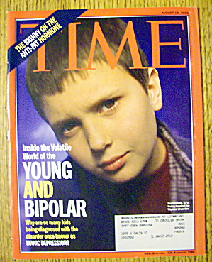 Time Magazine August 19, 2002 Young And Bipolar