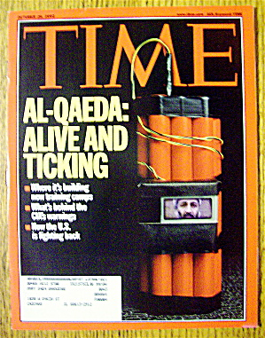 Time Magazine October 28, 2002 Alive And Ticking