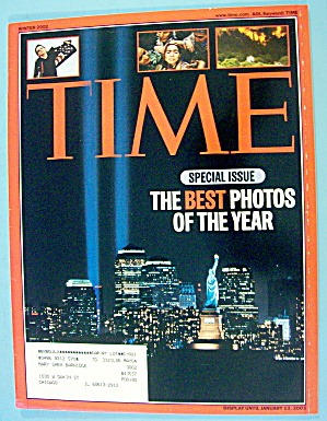 Time Magazine Winter 2002 Best Photos Of Year
