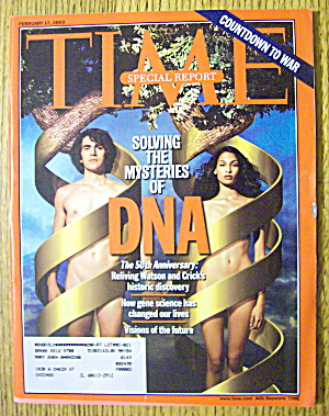 Time Magazine February 17, 2003 Mysteries Of Dna