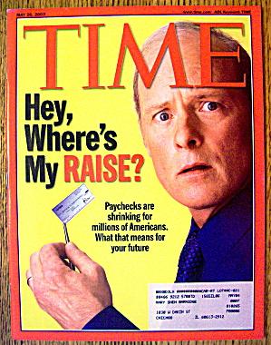 Time Magazine May 26, 2003 Where's My Raise? (Image1)