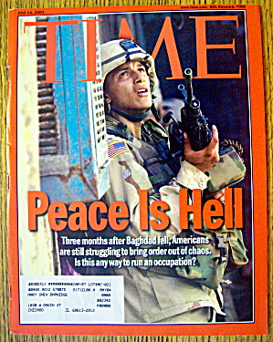 Time Magazine July 14, 2003 Peace Is Hell (Image1)