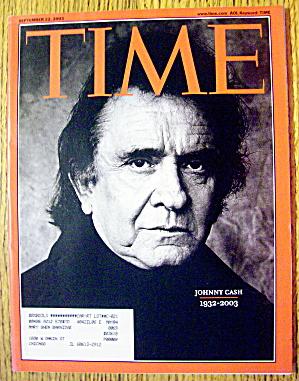 Time Magazine September 22, 2003 Johnny Cash (Image1)