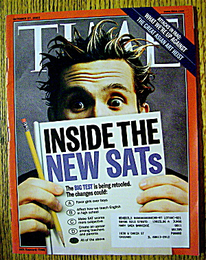 Time Magazine October 27, 2003 Inside The New Sat's