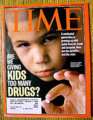 Time Magazine November 3, 2003 Kids & Drugs (Image1)
